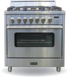 """Stainless Steel 36"""" Single Oven Dual Fuel Range"""