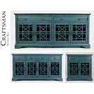 Craftsman Accent Chest - Antique Blue Product Image