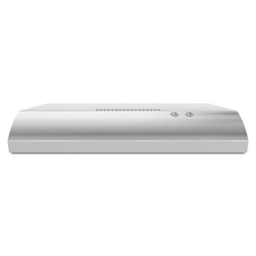 """30"""" Non-Vented Under-Cabinet Hood - stainless steel"""