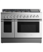 "Dual Fuel Range 48"", 6 Burners with Griddle (LPG) Product Image"