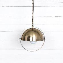 Garrick Pendant - Brushed Brass