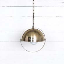 Garrick Pendant-brushed Brass