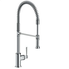 Chrome Single lever kitchen mixer 210 Semi-Pro
