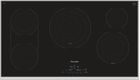 36-Inch Masterpiece® Touch Control Electric Cooktop, Black, Framed