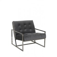 Chair 71x81x70 cm GENEVE velvet grey