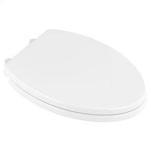 Transitional Elongated Luxury Toilet Seat  American Standard - White