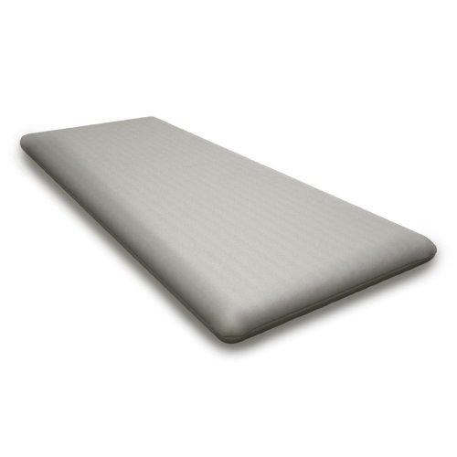 """Blend Lagoon Seat Cushion - 17""""D x 40.5""""W x 2.5""""H"""
