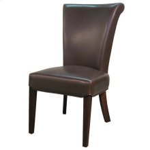 Bentley Leather Chair, Mocha