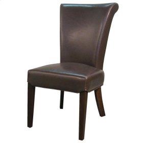 Bentley Leather Chair, Mocha