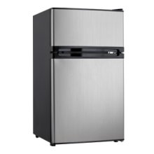 3.00 cu. ft. Dual Door Compact Fridge with Freezer