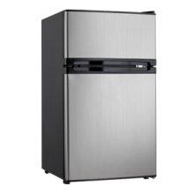 3.00 cu. ft. Dual Door Compact Fridge with Freezer