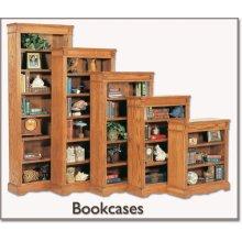 "32"" Wide Classic Open Bookcase"