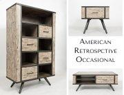 American Retrospective Bookcase Product Image