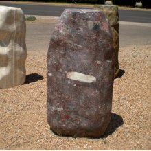 Large Jurassic Pebble Fountain, natural boulder style