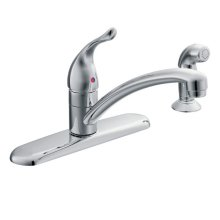 Chateau chrome one-handle kitchen faucet