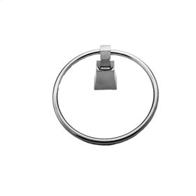 Matte White Towel Ring