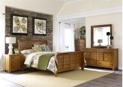 King Sleigh Bed, Dresser & Mirror, Chest, NS Product Image