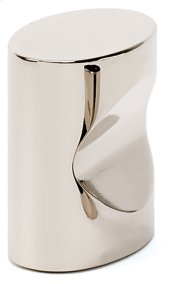 Contemporary III Oval Knob A250-1 - Polished Nickel
