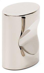 Contemporary III Oval Knob A250-1 - Polished Nickel