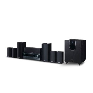 ONKYO7.1-Channel Home Theater Package with iPod(R) Dock