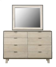 Emerald Home Synchrony Mirror Washed Linen B112-24 Product Image