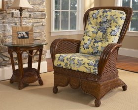 Moroccan Wing Chair