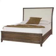Park Studio King Upholstered Sleigh Bed Complete Product Image
