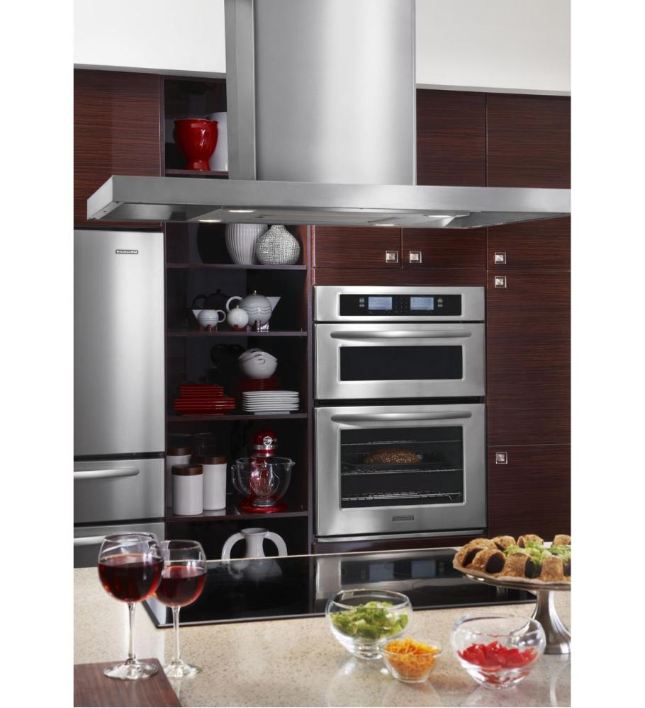 Hidden · Additional 30 Inch Steam Assist Combination Microwave Wall Oven,  Architect® Series II