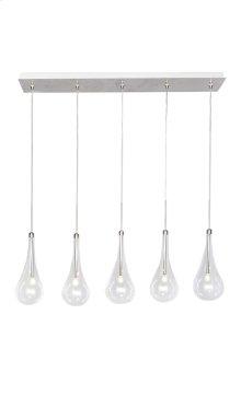 Larmes 5-Light LED Pendant