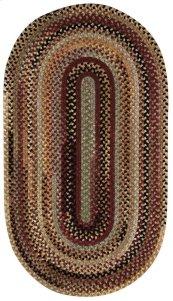 Cambridge Wineberry Braided Rugs (Custom)