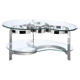 Mercury Freeform Cocktail Table