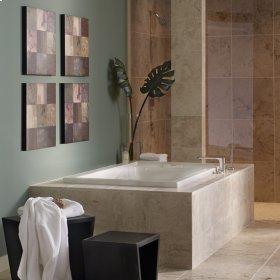 Evolution 60x36 inch Deep Soak Bathtub - White