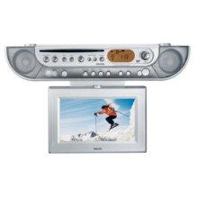 DVD LCD-TV Kitchen Clock Radio