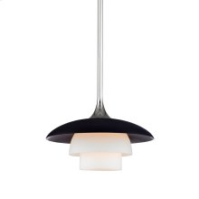 Barron Pendant - Polished Nickel