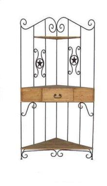 Iron Corner Rack