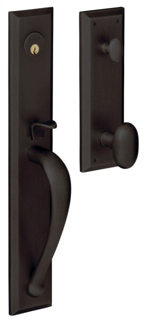 Oil-Rubbed Bronze Cody Full Handleset