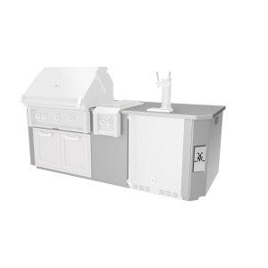 Hestan8' Outdoor Living Suites with Side Burners - GE Series
