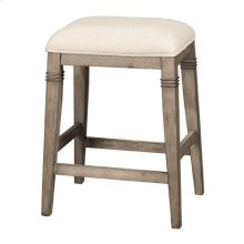 Arabella Backless Non-swivel Counter Stool