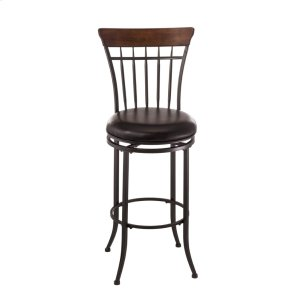 Hillsdale FurnitureCameron Spoke Back Swivel Barstool