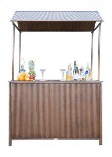 Tiki Bar with Canopy