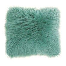 "Fur Fl101 Celadon 1'10"" X 1'10"" Throw Pillows"