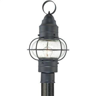 Cooper Outdoor Lantern in Mystic Black
