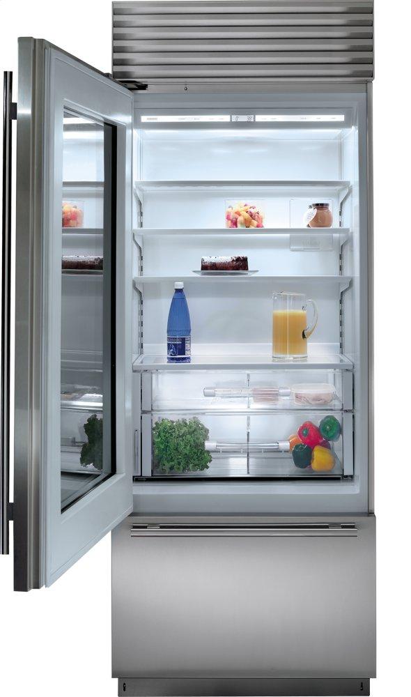 Bi30uaolh subzero - Glass door refrigerator freezer ...