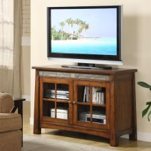 Craftsman Home - 45-inch TV Console - Americana Oak Finish