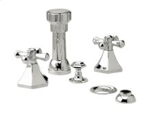 LA VERRE & LA CROSSE Four Hole Bidet Set K4171 - Polished Brass