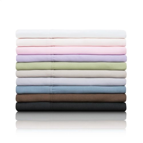 Brushed Microfiber - Split Cal King Blush