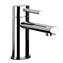 "Single lever washbasin mixer with pop-up assembly Spout projection 4-3/4"" Height 6"" Includes drain Max flow rate 1"