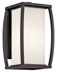 "Bowen 13"" 1 Light Wall Light Architectural Bronze"