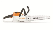 Battery-powered chainsaw for suburban homeowners with various cutting needs.