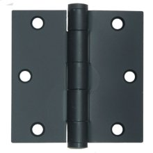 Hinge with Flat Tips